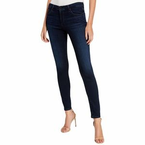 AG The Prima Ankle Cigarette Ankle Dark Wash Jeans